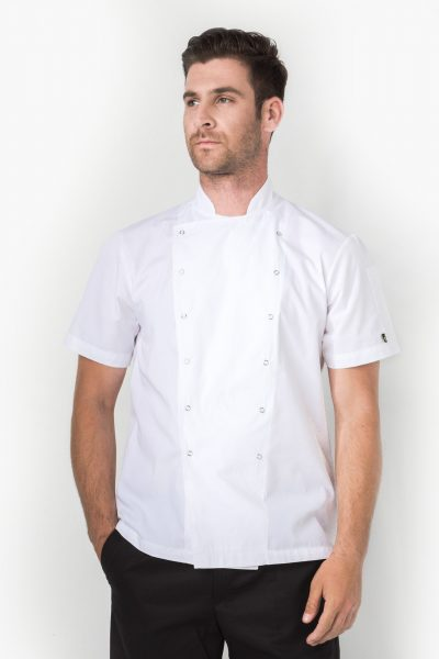 Xenias Short Sleeve Chef Jacket