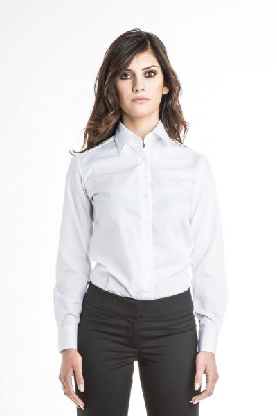 Long Sleeve Classic Collar Blouse