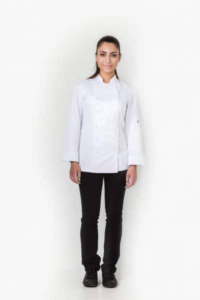 Aris Uniforms-FCJ03-Zoe Women's Chef Jacket