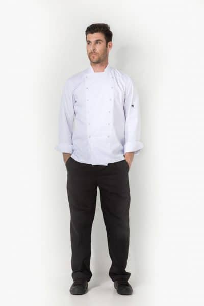 Aris Uniforms-UCJ04-Xenias Long Sleeve Chef Jacket