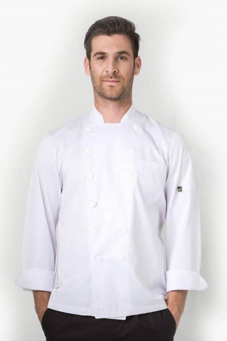 Aris Uniforms-UCJ01-Basic Chef Jacket