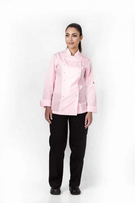 Aris Uniforms-FCJ01-Women's Xenias Long Sleeve Chef Jacket