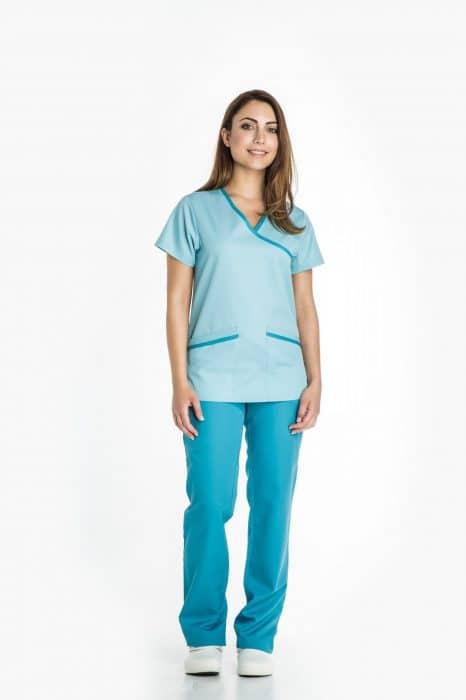 Aris Uniforms-FTU12-Women's Mock Wrap Tunic