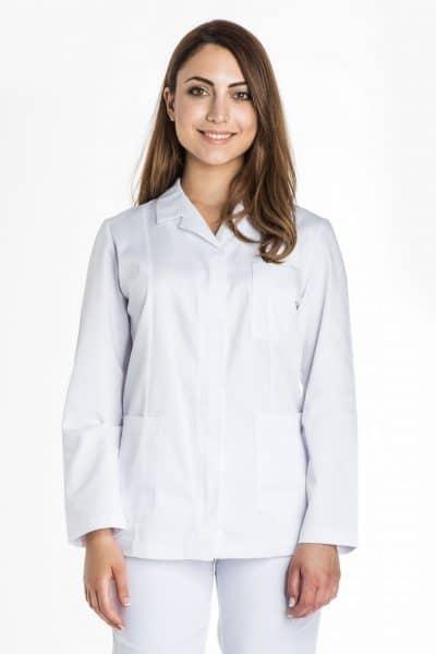 Aris Uniforms-FTU17-Women's Basic Long Sleeve Zip Tunic