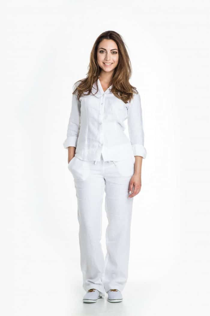 Aris Uniforms-FT14-Women's Linen Trouser
