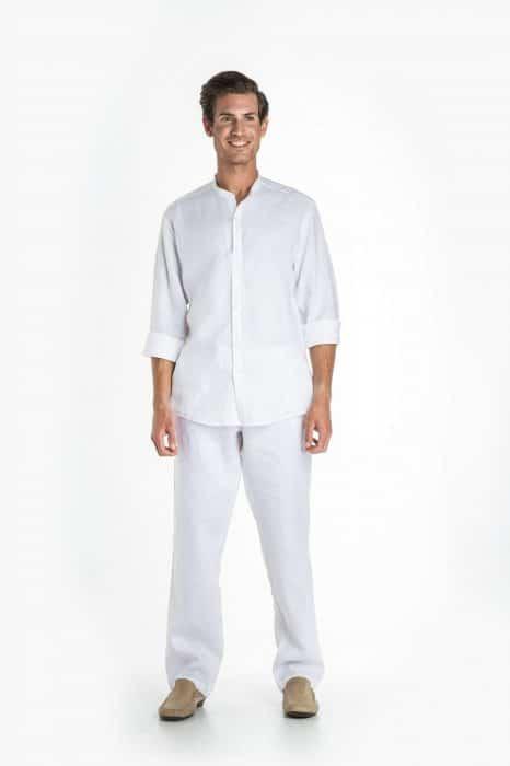 Aris Uniforms-MT09-Men's Linen Trouser
