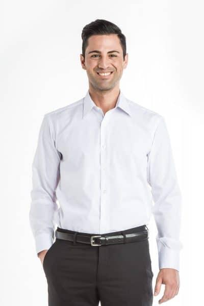 Aris Uniforms-MS02-Long Sleeve Classic Collar Shirt