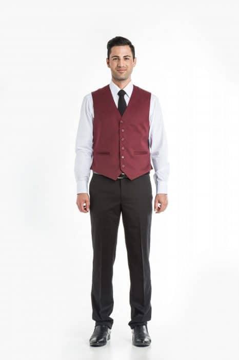 Aris Uniforms-MW01-Men's Waistcoat