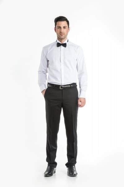 Aris Uniforms-FB05-Long Sleeve Wing Collar Shirt
