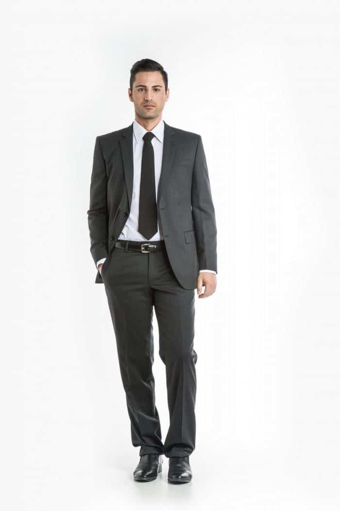 Aris Uniforms-MT01-Men's Flat Front Trouser