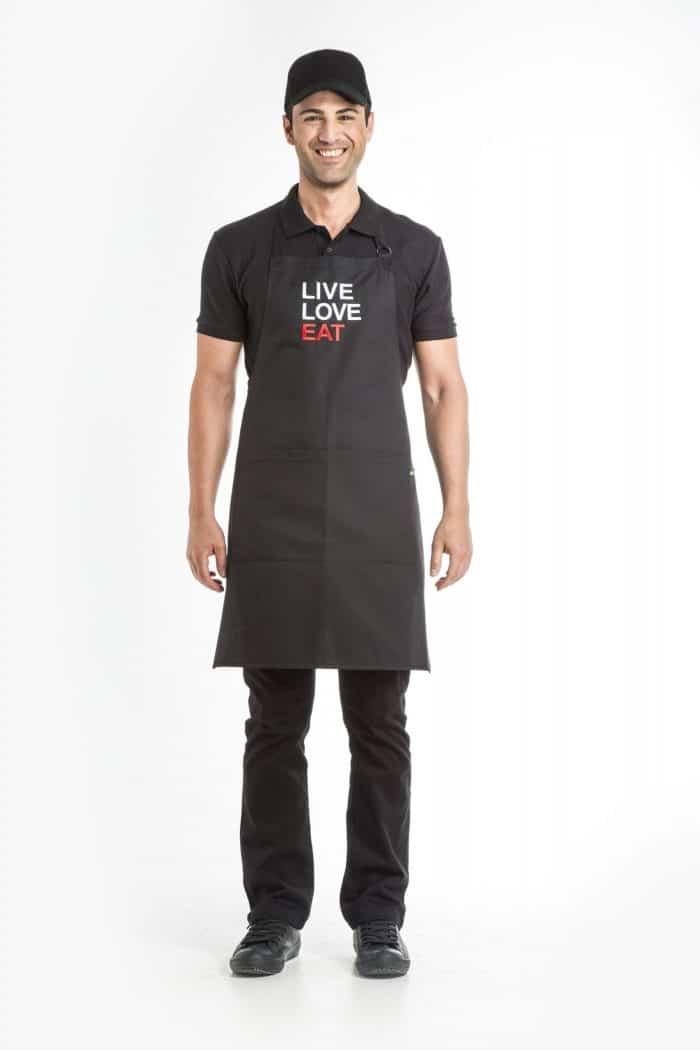 Aris Uniforms-UAP04-Live/ Love/Eat Apron