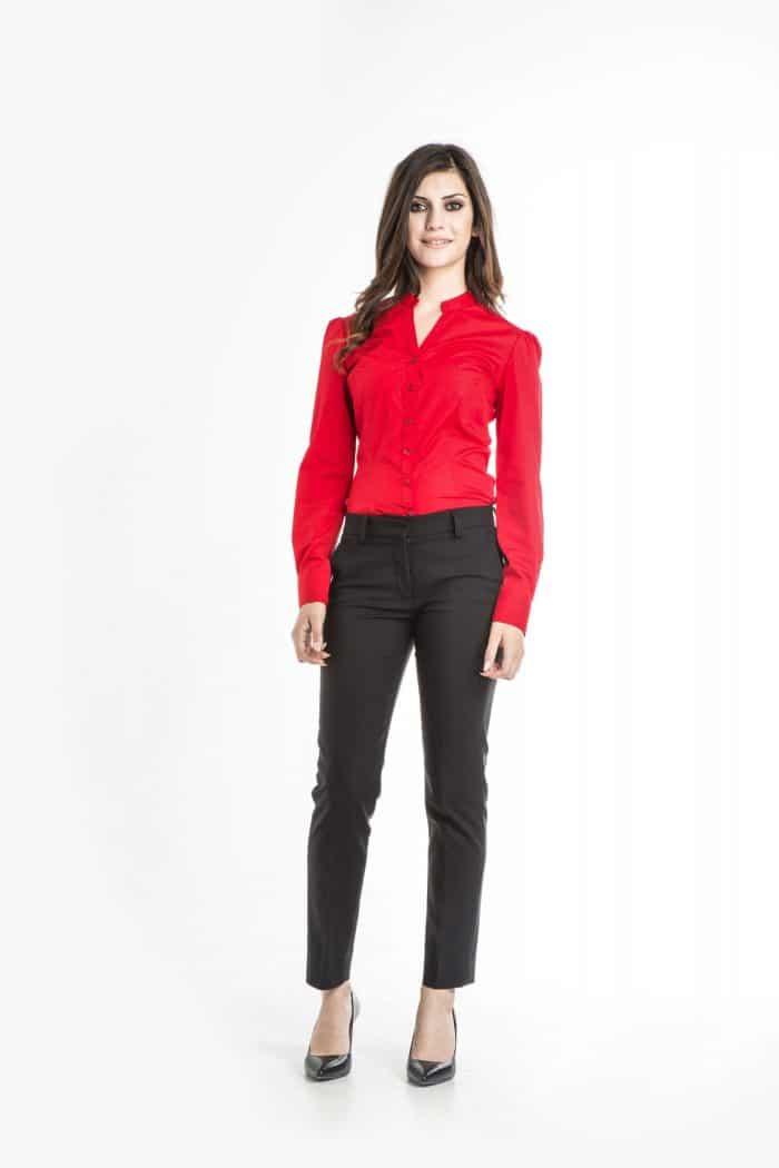 Aris Uniforms-FB16-Chloe Long Sleeve Blouse