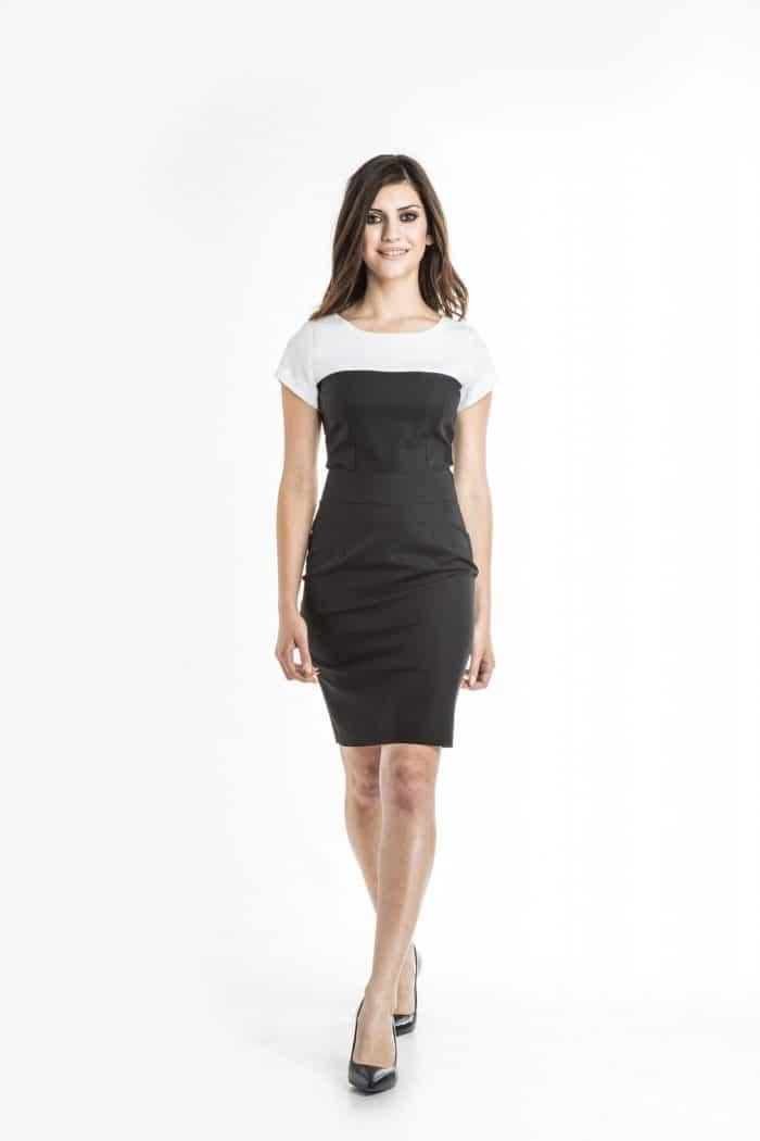 Aris Uniforms-FD09-Monica Colour Block Dress