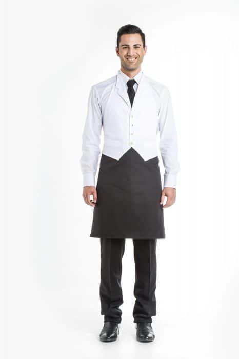 Aris Uniforms-UA22-Waistcoat Apron With Lapel