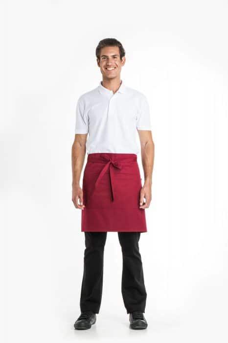 Aris Uniforms-UA02-Short Apron With Pocket