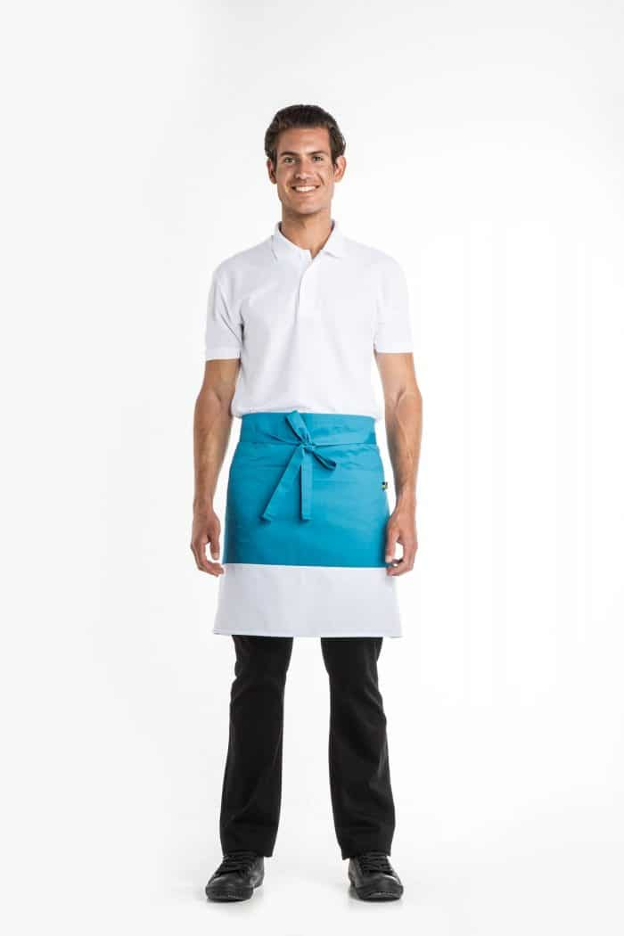 Aris Uniforms-UA46-Colour Block Waist Apron