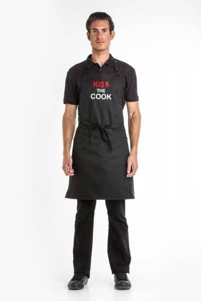 Aris Uniforms-UAP05-Kiss The Cook Apron