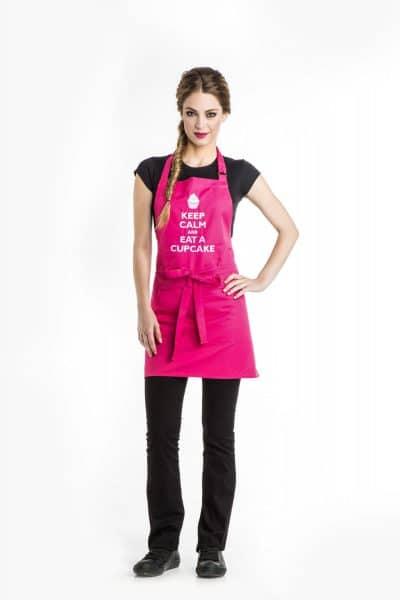 Aris Uniforms-UAP02-Keep Calm/ Cupcake Apron