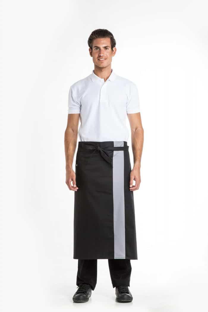 Aris Uniforms-UA09-Barstripe Long Apron
