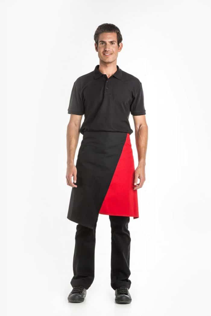 Aris Uniforms-UA47-Asymmetrical Waist Apron