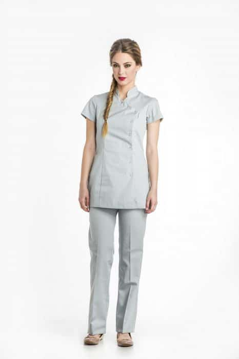 Aris Uniforms-FTU02-Women's Basic Asymmetrical Tunic